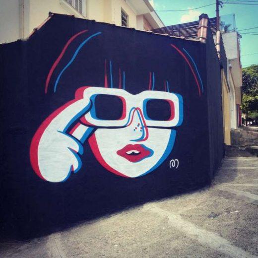 Amusing and Childish Murals in São Paulo