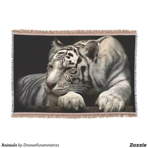 Animals Throw | Zazzle.com