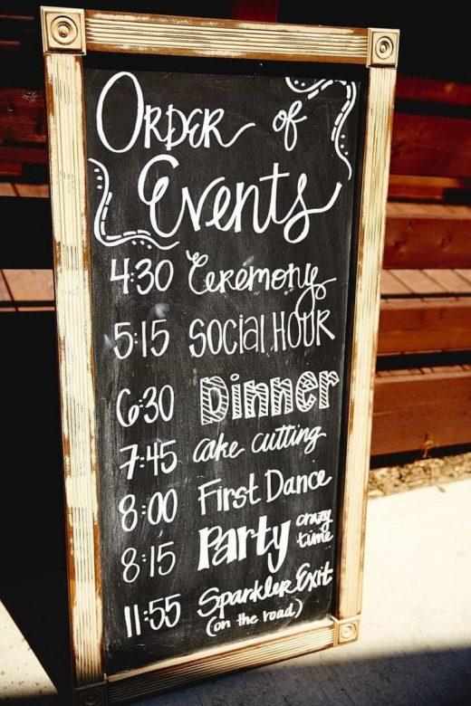Elegant Wedding Signs Cute Ideas