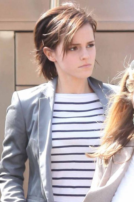 Emma Watson's hair & beauty: then vs now