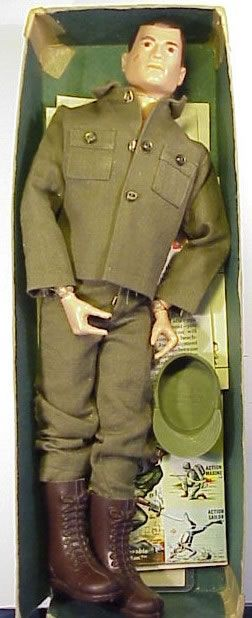 G.I. Joe action figure – my brother's favorite toy and some times Barbie's date …