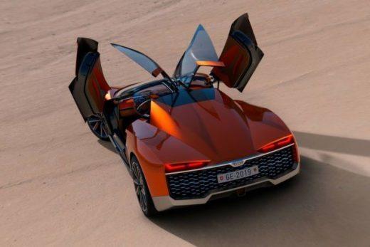 GFG Kangaroo electric all-terrain supercar concept