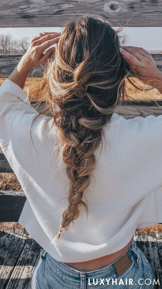 How To: Three Way Fishtail Braid Hair Tutorial