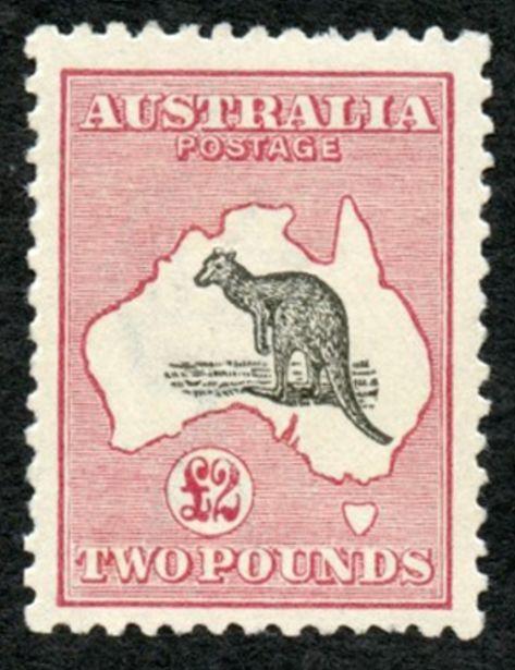 Item Of Interest / Stamps – King George V – Kangaroos