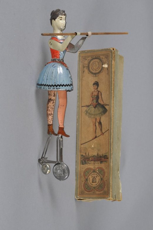 Miss Blondin toy and box were designated as EPL 689 and were made by Ernst Paul …