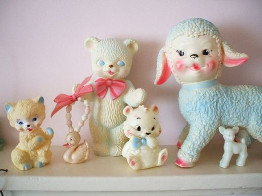 Squeaky collection…I remember holding mine up to my ear and squeaking it.It wo…