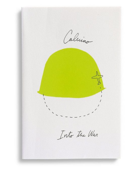 "The Best Book Covers of 2014 – NYTimes.com Design by Peter Mendelsund and Oliver Munday. ""Into the War"" by Italo Calvino."