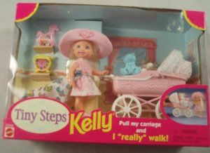 Tiny Steps Kelly Mattel Walking Doll & Carriage by Mattel. $35.00. 1998 Mattel. …