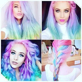 """Women Are Coloring Their Hair """"Opal"""" And The Results Are Mind-Blowing"""