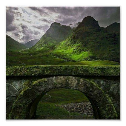 glen coe poster | Zazzle.com