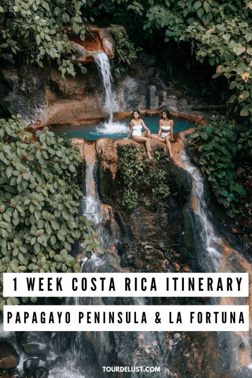 1 WEEK COSTA RICA ITINERARY