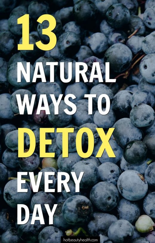 13 Natural Ways to Detox Every Day
