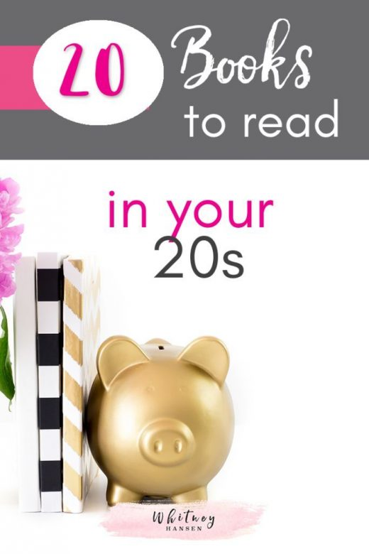20 Books To Read In Your 20's