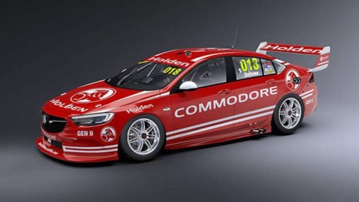 2018 Holden Commodore Supercars racer revealed with rendering