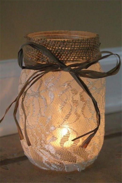 22 Rustic Burlap Lace Wedding Ideas