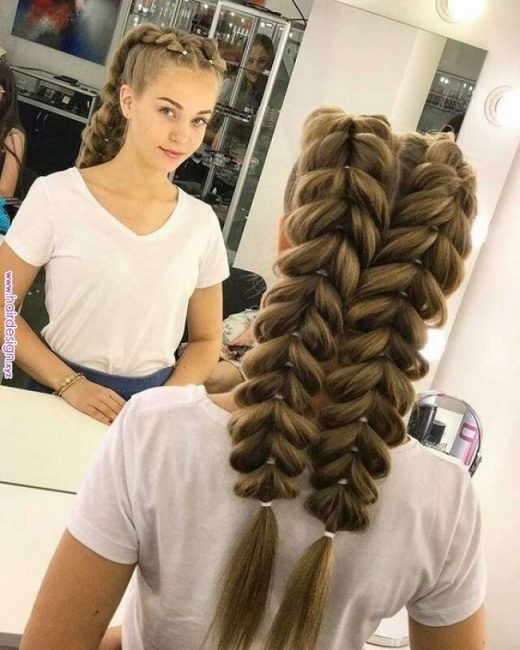 40 Cute and Easy Braided Hairstyle Tutorials #braidedhairstyles #hairstyles #hair