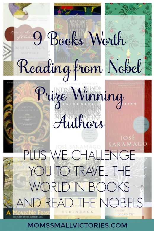 9 Books Worth Reading from Nobel Prize in Literature Winning Authors