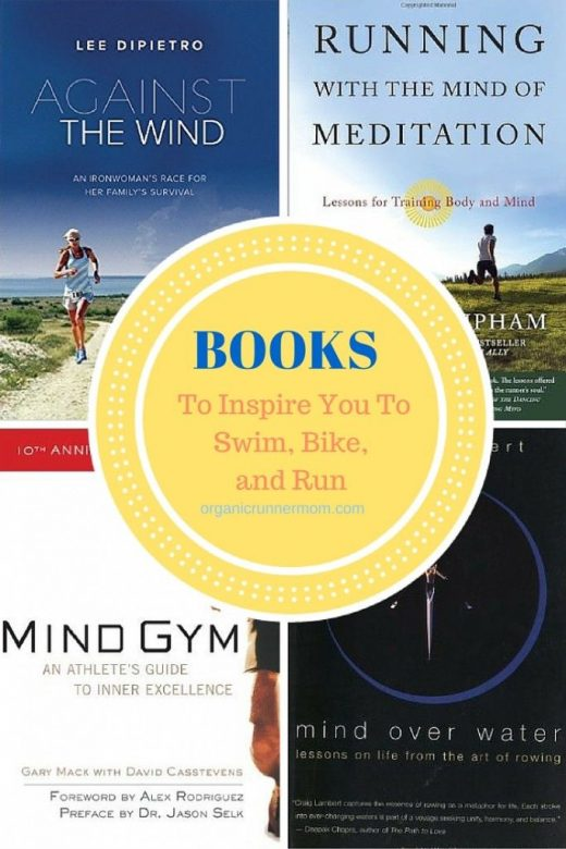 Best Books to Inspire You to Swim, Bike and Run
