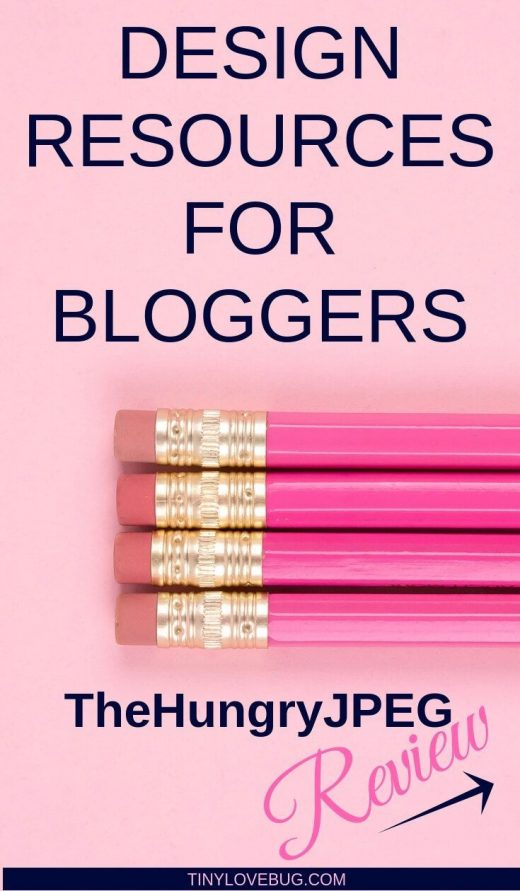 Design Resources for Bloggers: TheHungryJPEG Review