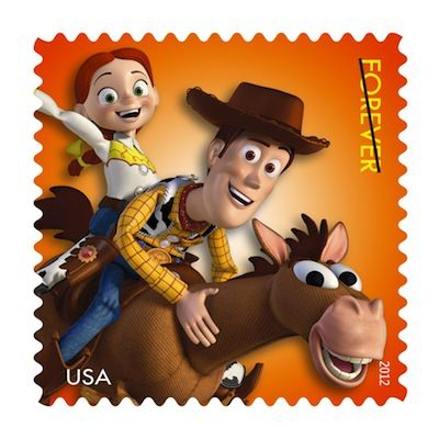 """Disney Pixar Stamps In 1999, """"Toy Story 2"""" reopened the toy box, bringing Woody,…"""