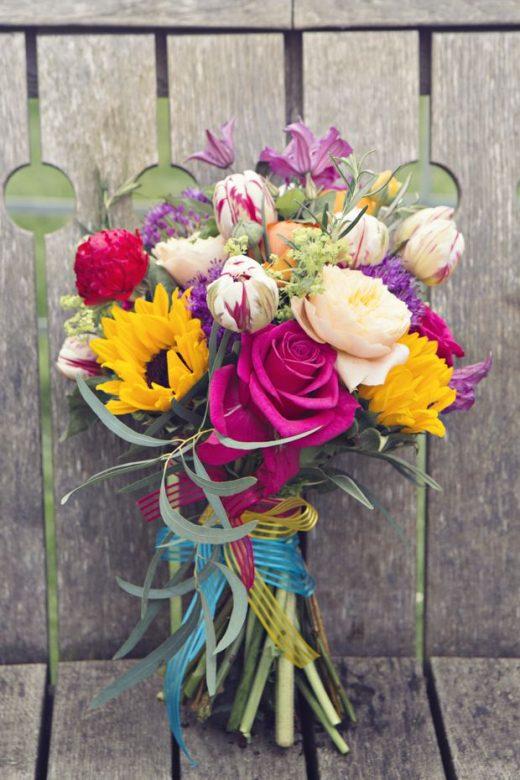 Fun & Colourful Vintage Carnival Wedding Ideas