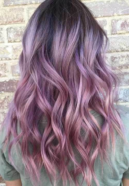 Great ombre colors for long hair