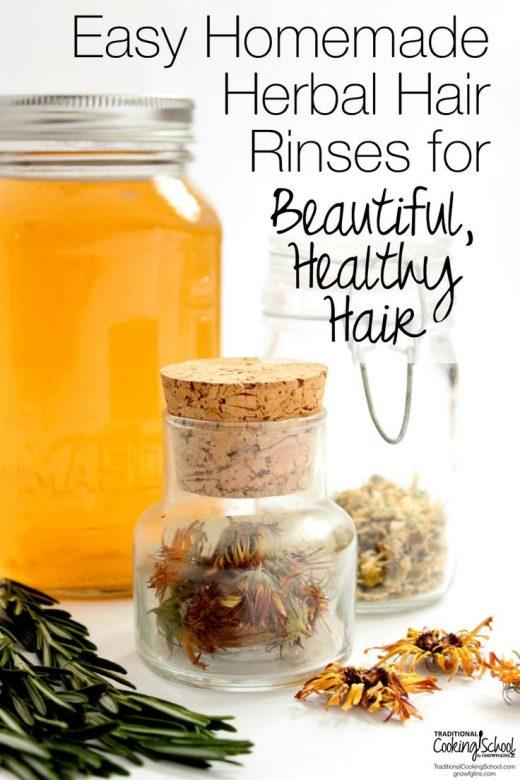 Herbal Vinegar Rinse