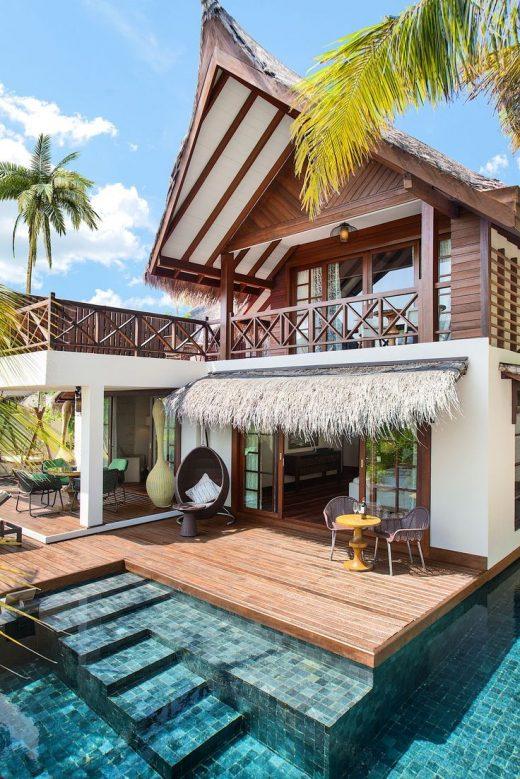 Jumeirah Vittaveli Nestled on a small atoll in the…