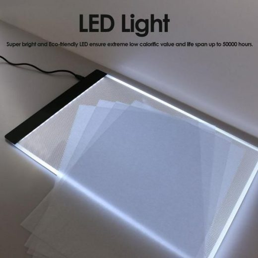 LED Light Drawing Tablet Black For Drawing Lover