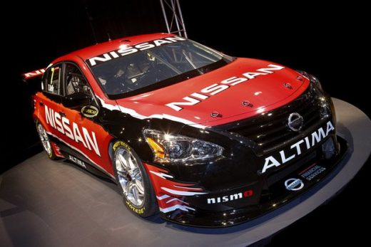 Nissan reveals Altima V8 Supercar [w/video]