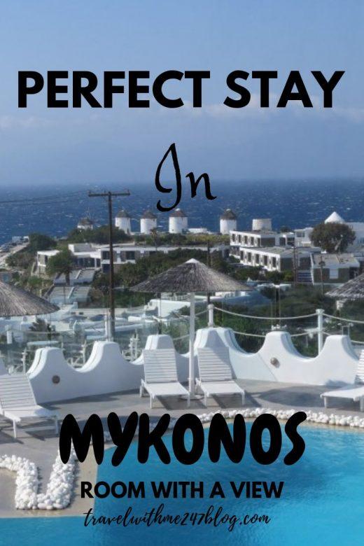 Perfect Stay in Mykonos, Greece