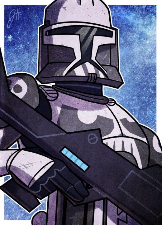 Star Wars Digital Art and Illustrations