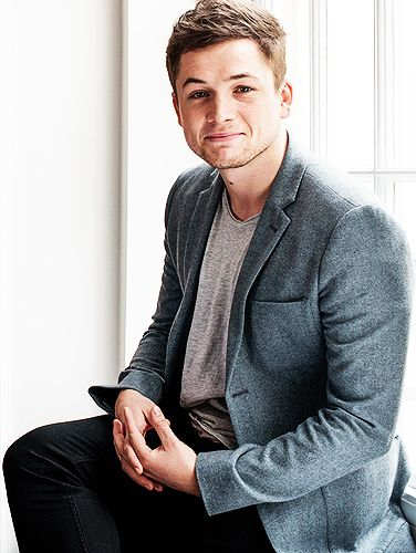 Taron Egerton – I may have a little bit of a celebrity crush on this guy. The…