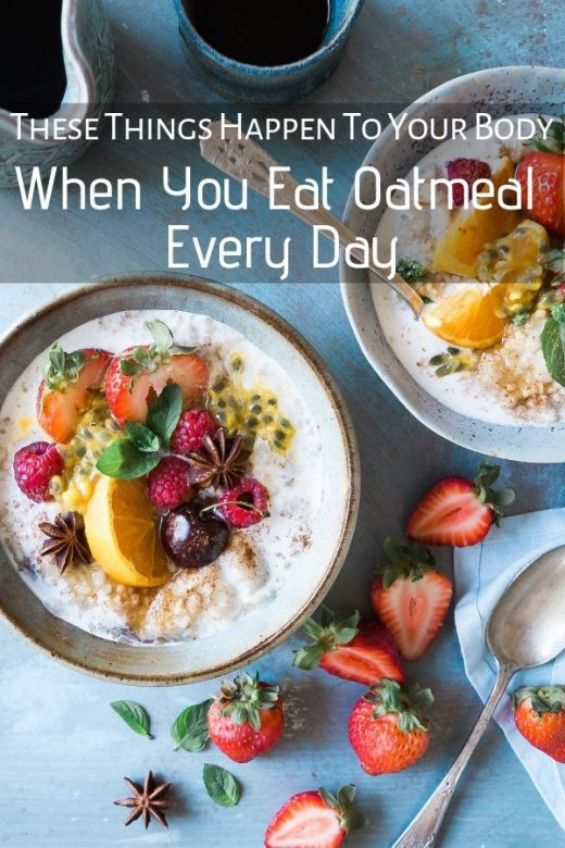 These Things Happen To Your Body When You Eat Oatmeal Every Day