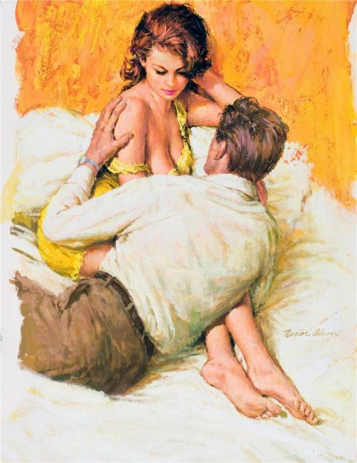 Victor Olson – Pulp Art and Illustrations – 40 Trading Card Book Set