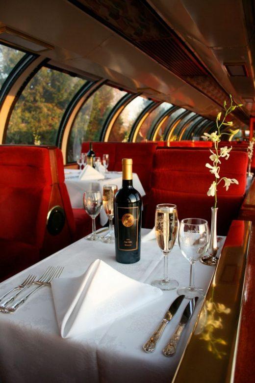Wine Train – Napa Valley, California.