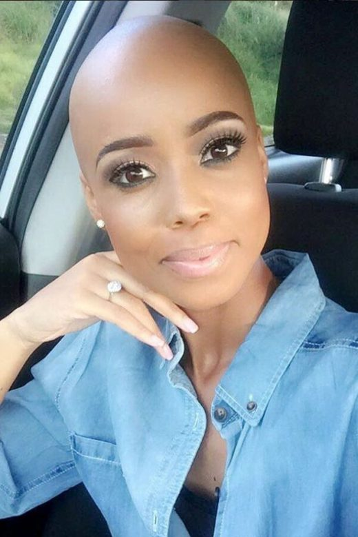 Wonderful Black Gals With Bald Heads