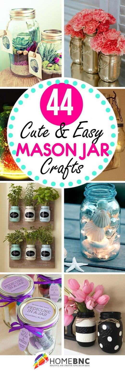 You don't need advanced carpentry skills to get started with DIY mason jar c…
