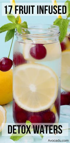 17 Detox Water Recipes for Weight Loss