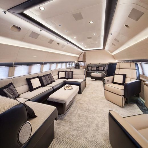 20 Private Plane Interiors Nicer Than Your House