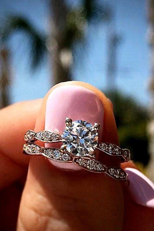21 Fantastic Wedding day Ring Sets For Wonderful Gals