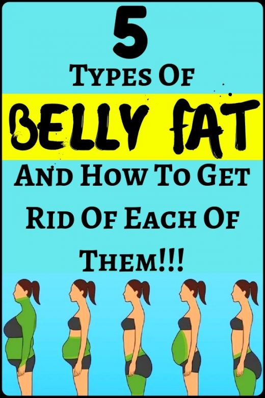 5 Types Of Belly Fat And How To Get Rid Of Each Of Them – amazing health and fit…