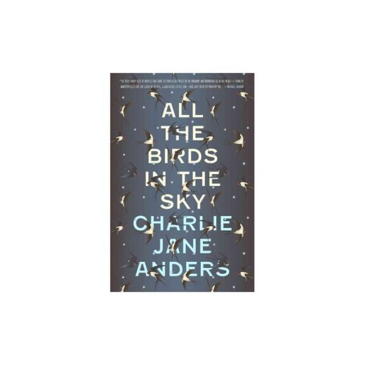 All the Birds in the Sky – by Charlie Jane Anders (Hardcover)