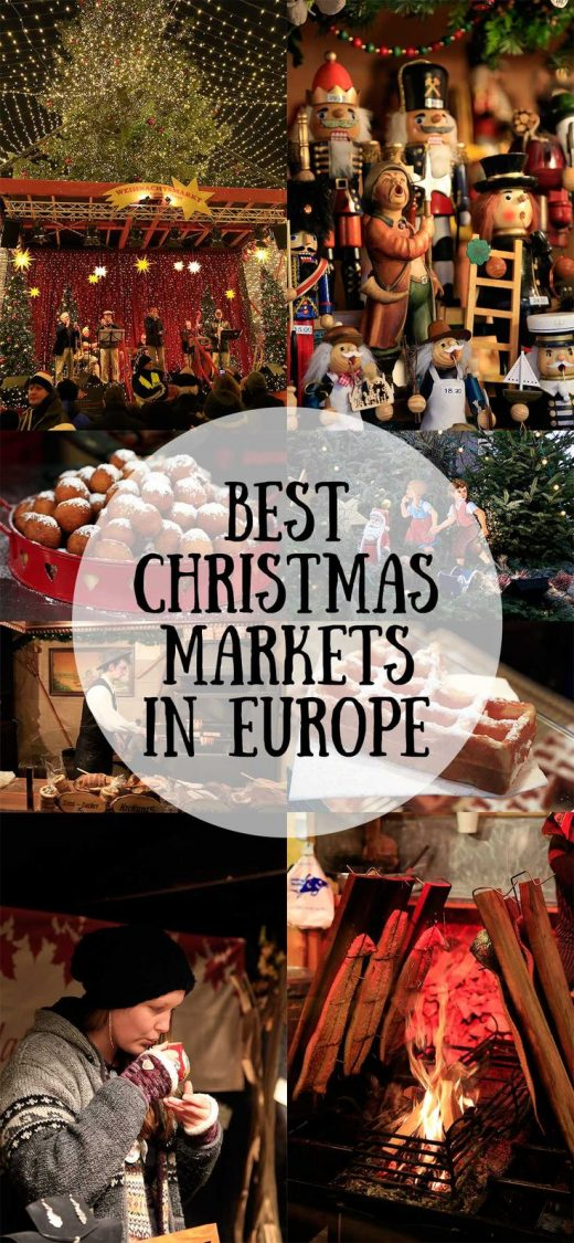 Best Christmas Markets in Europe For Foodies & Shopaholics