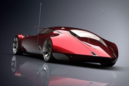 Cosmic Motors Galaxion Supercar Concept