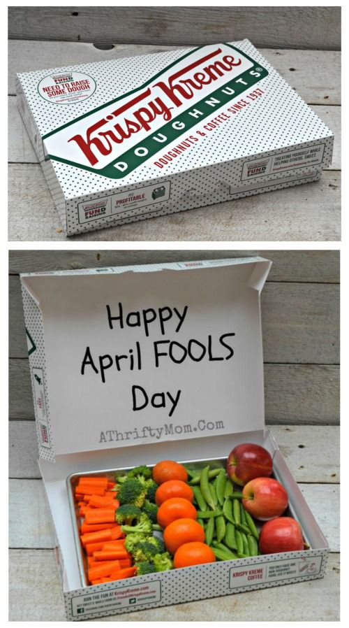Easy April Fools Prank for kids or co-workers ~ Where are the Donuts?
