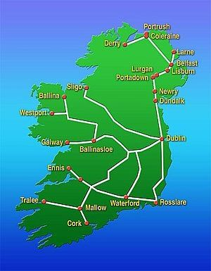 How to Travel Ireland by Train