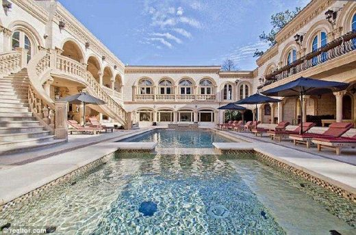 Inside Atlanta's most expensive home: With 11 bathrooms, nine bedrooms, a movie theater and SEVEN kitchens you'd never have to leave