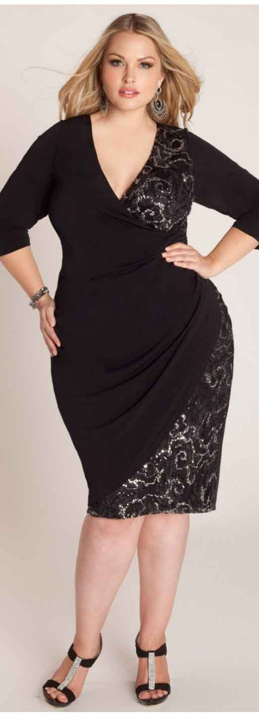 Leading 10 Black Attire for Moreover Sized Gals