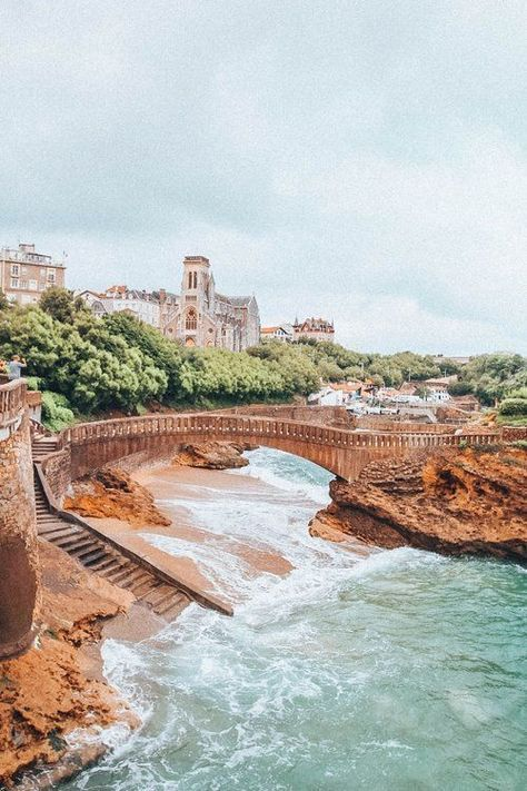 One Day in Biarritz, France